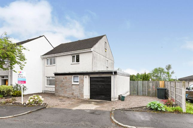 Thumbnail Semi-detached house for sale in Edward Drive, Helensburgh