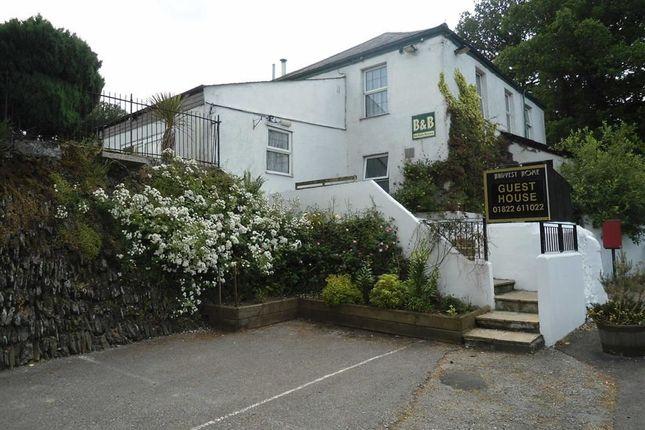 Thumbnail Hotel/guest house for sale in Harvest Home, Gulworthy, Tavistock, Devon
