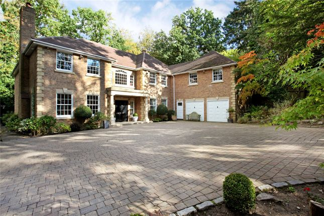 Thumbnail Detached house for sale in Bagshot Road, Ascot, Berkshire