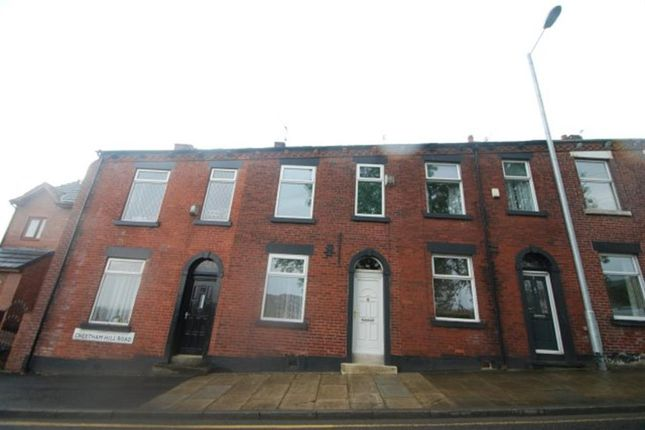 Thumbnail Terraced house to rent in Cheetham Hill Road, Stalybridge, Cheshire