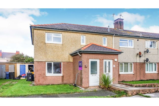 Thumbnail Flat for sale in Morrison Crescent, Holyhead