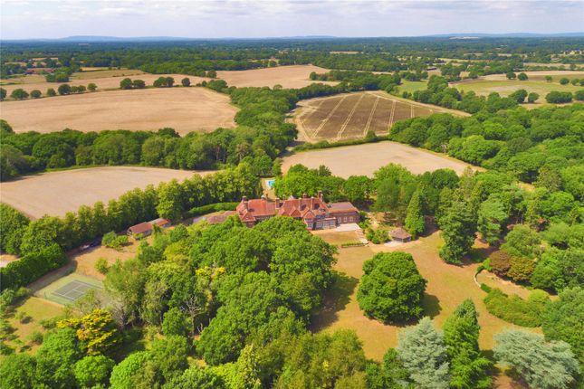 Aerial of Lock, Partridge Green, Horsham, West Sussex RH13