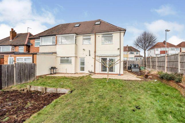Thumbnail Semi-detached house for sale in Rectory Park Road, Sheldon, Birmingham