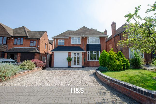 Thumbnail Detached house for sale in Northbrook Road, Shirley, Solihull