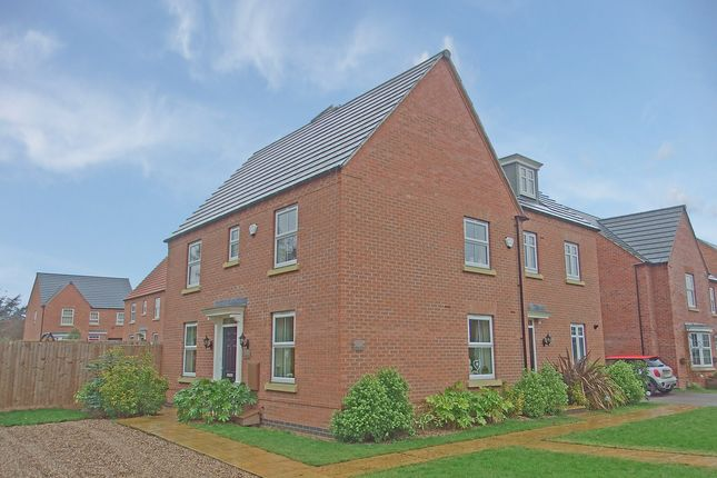 Thumbnail Semi-detached house for sale in Loddington Close, Syston, Leicester