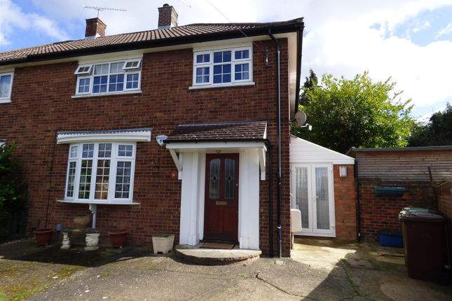 Thumbnail Semi-detached house for sale in Stapleton Road, Borehamwood