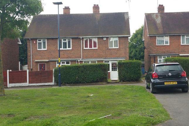 Thumbnail Semi-detached house to rent in Quinton Road West, Birmingham