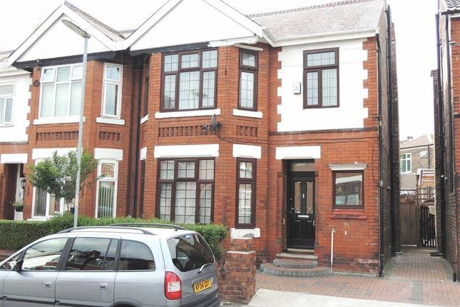 Thumbnail Semi-detached house for sale in Sunny Bank Road, Longsight, Manchester
