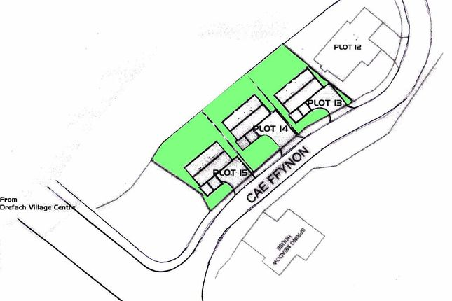 Thumbnail Land for sale in Caeffynnon, Drefach, Llanelli
