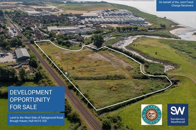 Thumbnail Land for sale in Development Opportunity, Saltgrounds Road, Brough, East Riding Of Yorkshire