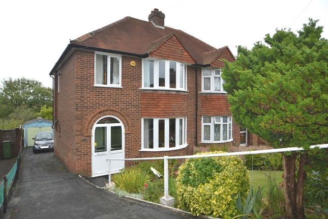Thumbnail Semi-detached house for sale in Hatters Lane, High Wycombe