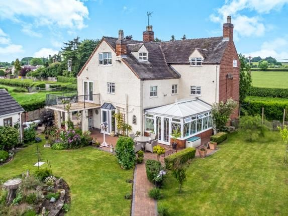 Thumbnail Detached house for sale in Wolseley Bridge, Colwich, Stafford, Staffordshire