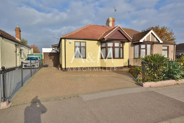 Thumbnail Semi-detached bungalow for sale in New North Road, Ilford