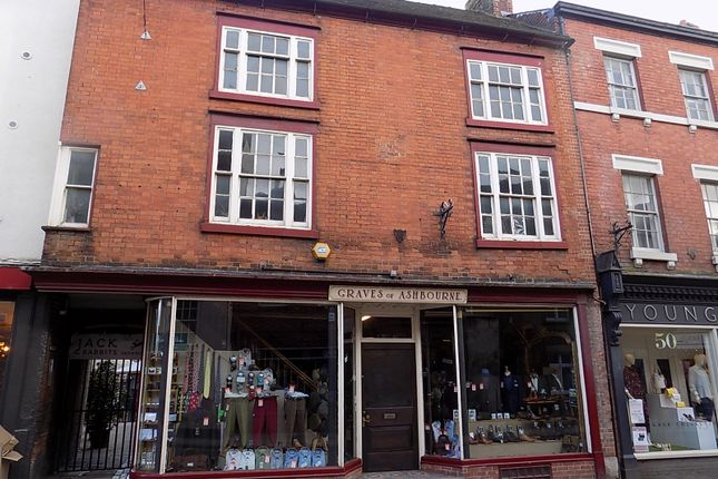 Thumbnail Town house for sale in St Johns Street, Ashbourne Derbyshire