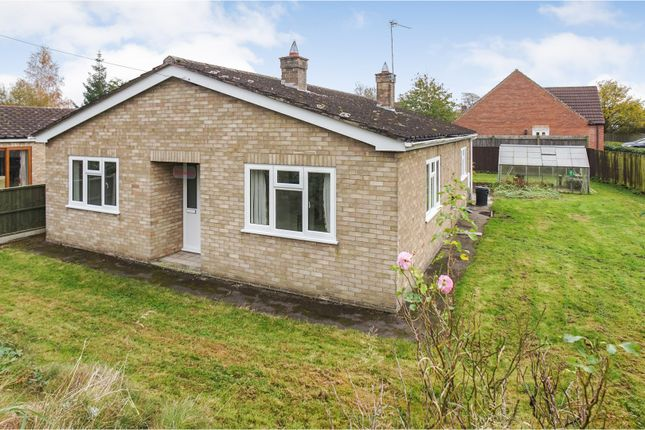 Thumbnail Detached bungalow for sale in Mill Road, Market Rasen