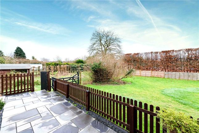 Patio of Cannon Court, 50 Cannon Grove, Leatherhead KT22