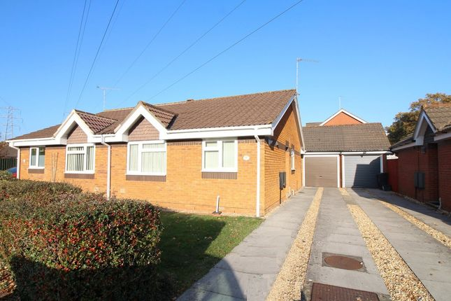 Thumbnail Semi-detached bungalow for sale in Pony Drive, Upton, Poole
