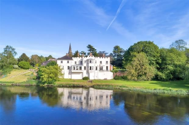Thumbnail Detached house for sale in Newton Solney, Burton-On-Trent, Derbyshire