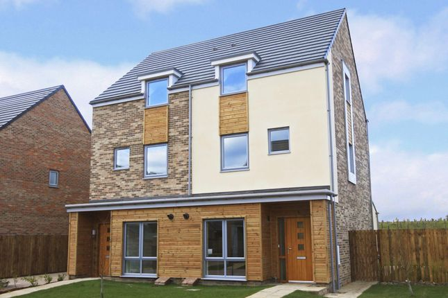 "Thumbnail Semi-detached house for sale in ""Hackworth"" at Whitworth Park Drive, Houghton Le Spring"