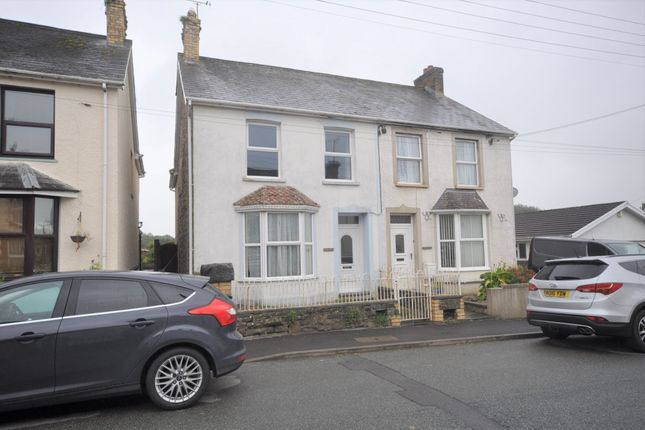 Thumbnail Semi-detached house for sale in Hazeldene, North Road, Whitland