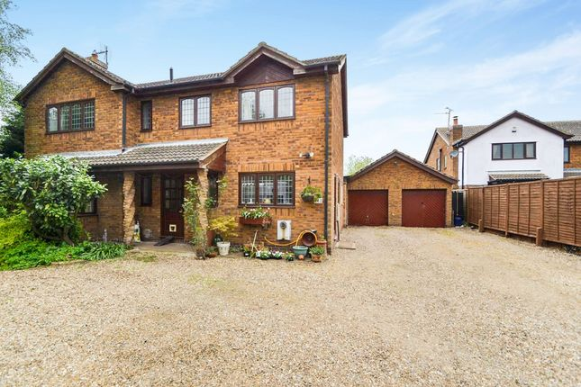 Thumbnail Detached house for sale in Ramsey Road, Pondersbridge, Huntingdon