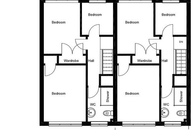 First Floor Plan of Land At Spring Lodge Close, Eastbourne BN23
