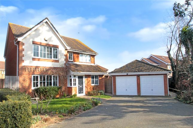 Thumbnail Detached house for sale in Kingfisher Drive, Wick, Littlehampton