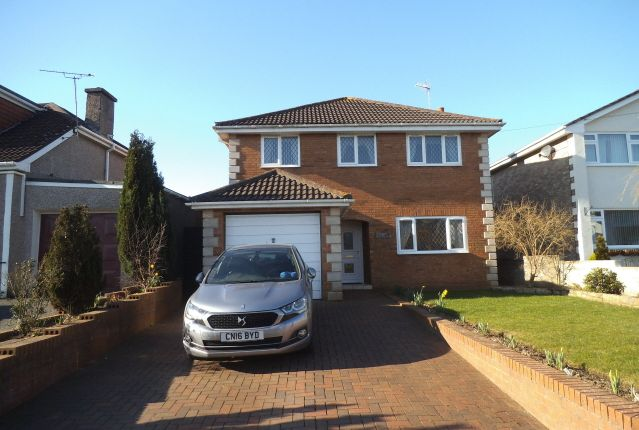 Thumbnail Detached house for sale in Bryn Road, Coychurch