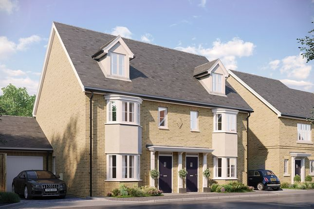 Thumbnail Semi-detached house for sale in The Northampton At Eastwood, Gardiners Park Village, Basildon