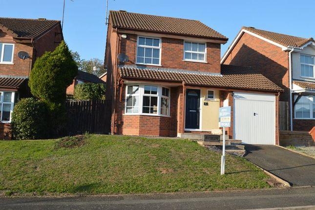 Thumbnail Detached house for sale in Reynard Close, Webheath, Redditch