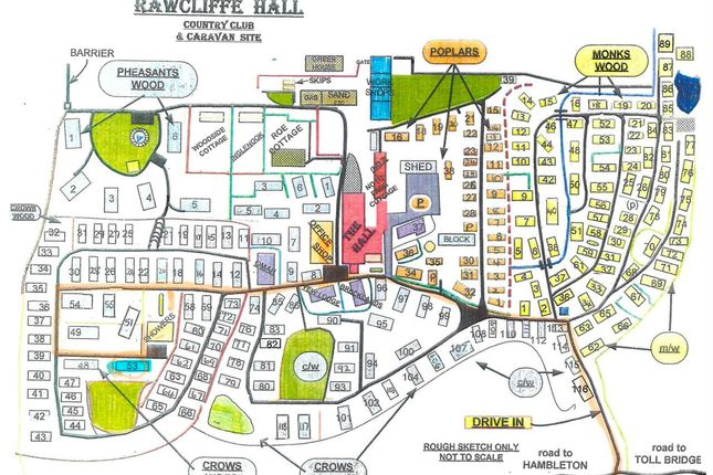 Site Map of Wyreside, Out Rawcliffe, Preston PR3
