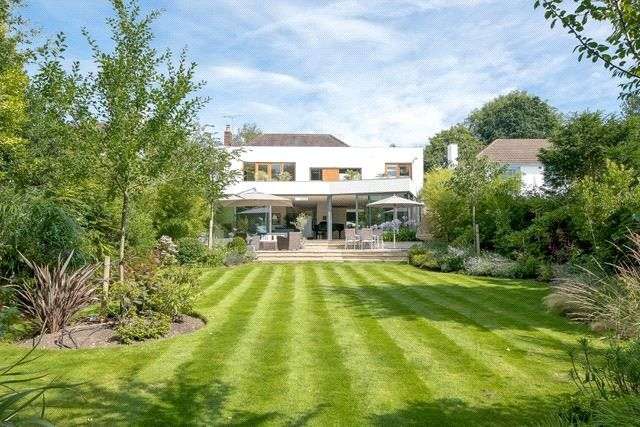 Thumbnail Detached house for sale in Burghley Avenue, New Malden, Surrey
