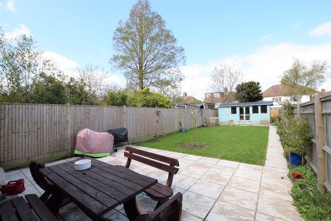 Rear Garden of Marlow Avenue, Eastbourne BN22