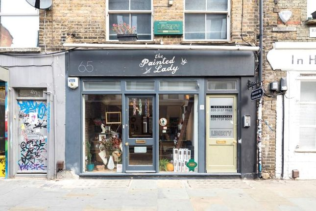 Thumbnail Retail premises for sale in Redchurch Street, London