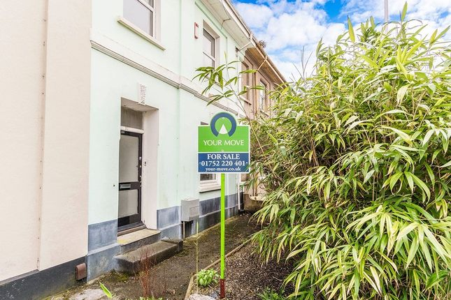 Thumbnail Terraced house for sale in North Road West, Plymouth
