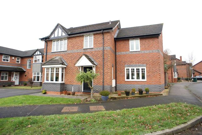 Thumbnail Detached house to rent in Enfield Close, Hilton, Derby