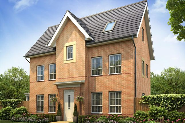 "Thumbnail Detached house for sale in ""Hexham"" at Lantern Lane, East Leake, Loughborough"