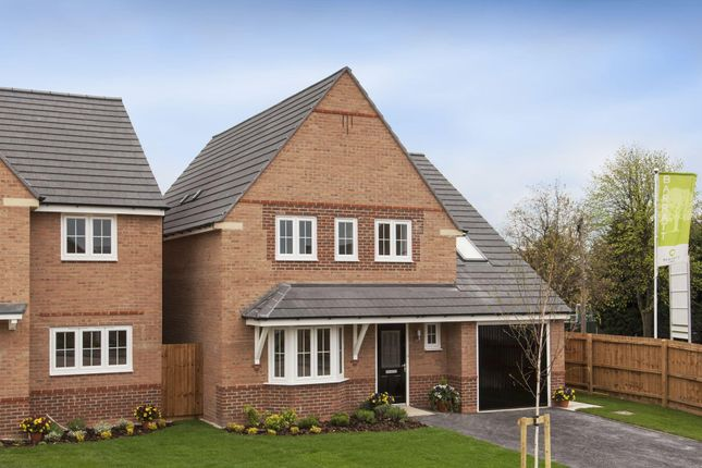 """Thumbnail Detached house for sale in """"Harborough"""" at Blackpool Road, Kirkham, Preston"""