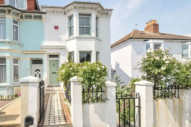 Thumbnail End terrace house to rent in Princes Road, Brighton