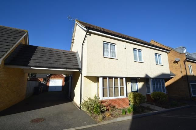 Thumbnail Detached house for sale in Bawden Way, Chelmsford