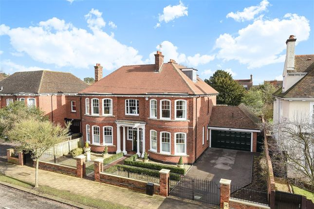 Thumbnail Detached house for sale in Pemberley Avenue, Bedford
