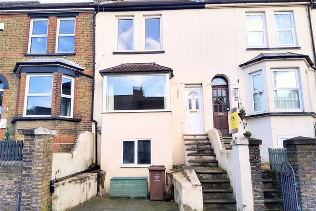 Thumbnail Terraced house to rent in Gravesend Road, Strood, Rochester