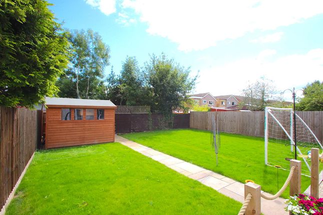 Rear Garden of Kirloe Avenue, Leicester Forest East, Leicester LE3