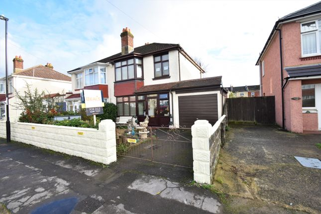 Thumbnail Semi-detached house for sale in Salcombe Road, Freemantle, Southampton