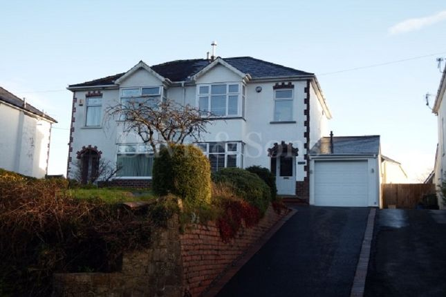 Thumbnail Semi-detached house for sale in Usk Road, Pontypool, Monmouthshire.