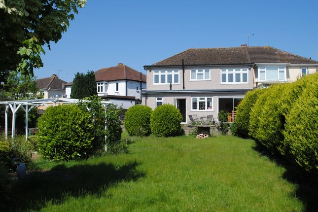 Thumbnail Semi-detached house for sale in Havering Drive, Romford