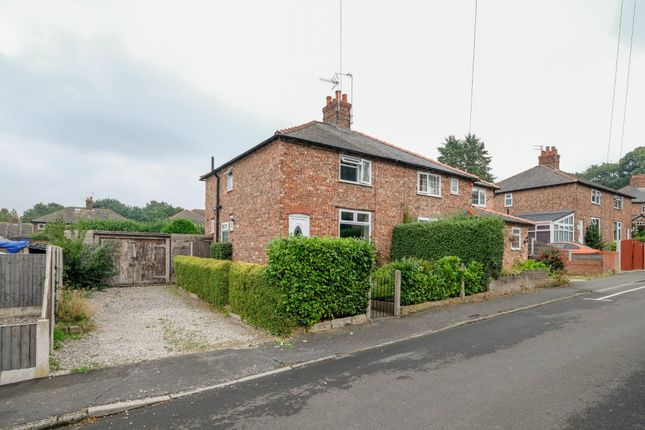 Thumbnail Semi-detached house for sale in Fairfield Road, Lymm
