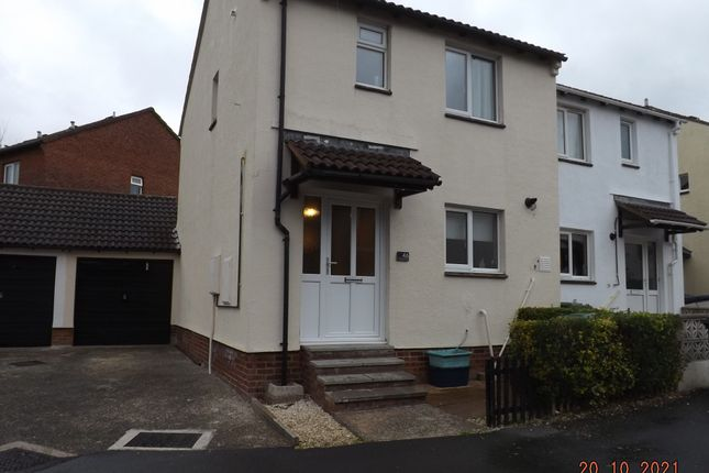 Thumbnail Semi-detached house to rent in Long Meadow Drive, Barnstaple