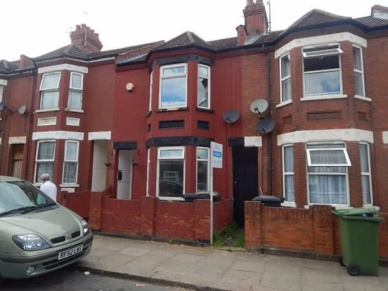 Thumbnail Terraced house to rent in Shaftesbury Road, Luton