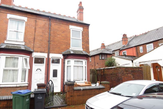Thumbnail End terrace house for sale in Lime Grove, Windmill Lane, Smethwick